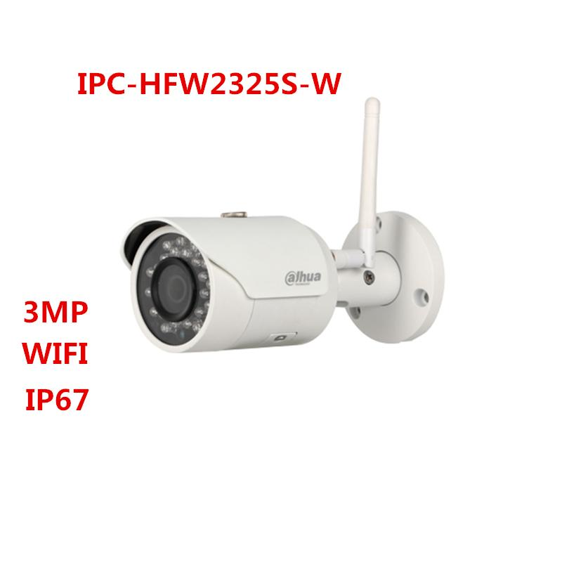 Details about Dahua IPC-HFW2325S-W 3MP IR50M IP67 Support Wifi SD Card  Network Bullet Camera