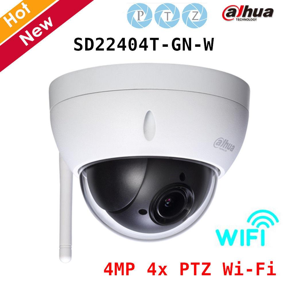 Details about Dahua WIFI SD22404T-GN-W 4MP IVS 4x PTZ Network Dome camera  Face Detection