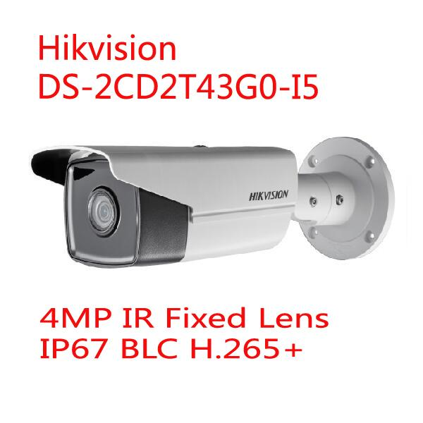 Details about Hikvision DS-2CD2T43G0-I5 4MP IP67 Face Detection IR Fixed  Bullet Network Camera