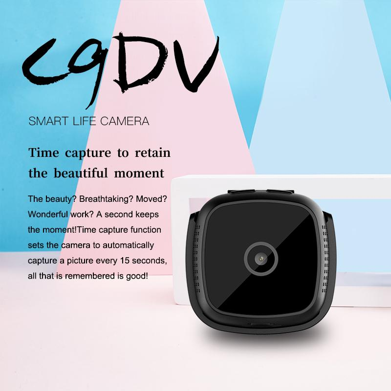WIFI Mini Wearable Camera Night Vision Driving recorder Motion Detection 1080P