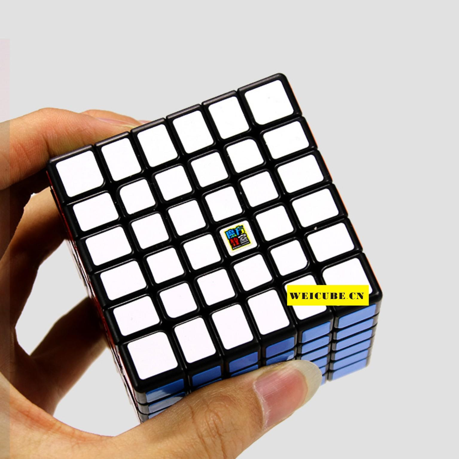 Mfjs Magic Cubes 4x4 5x5 6x6 7x7 Speed Twist Puzzle Pvc Rubik Mofang Jiaoshi Mf4s Stickerless Sticker Cube Toys