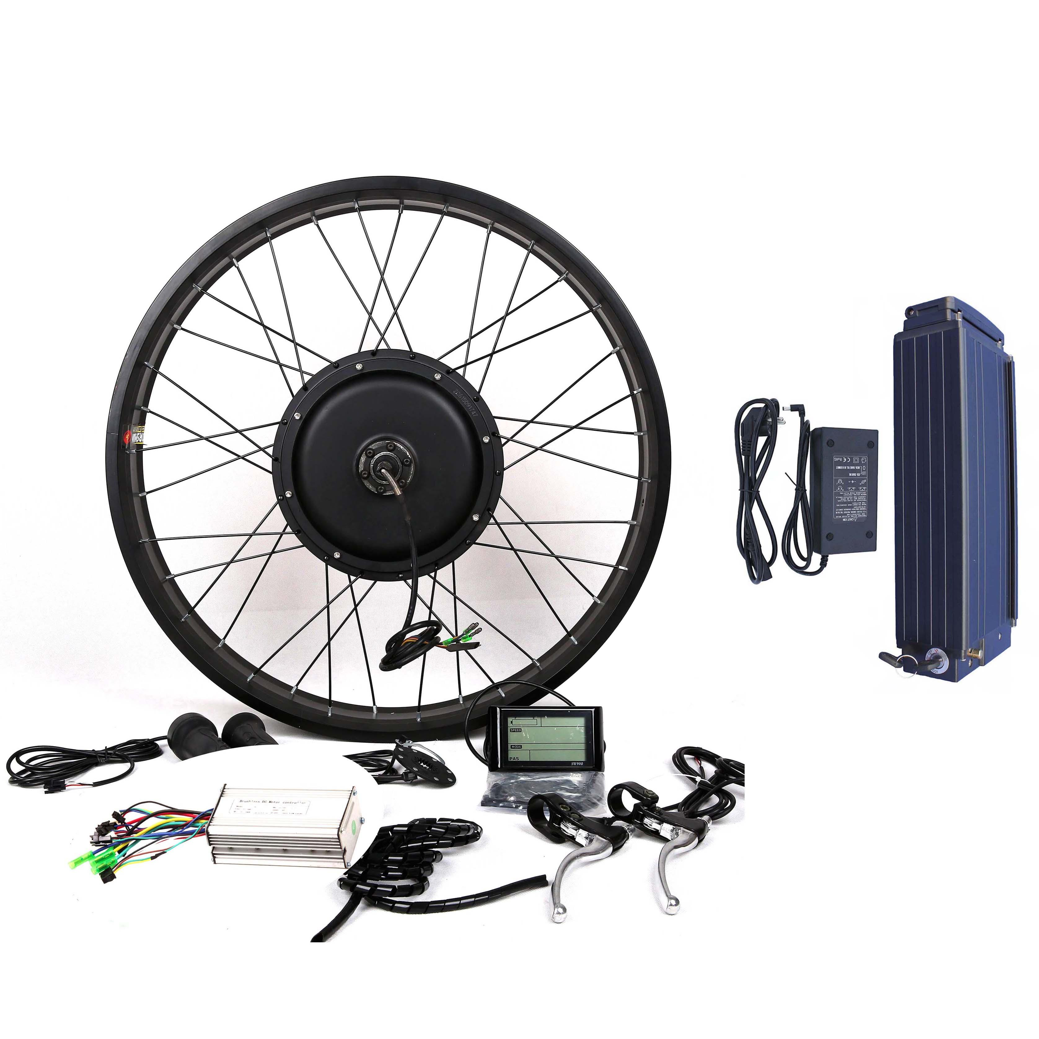 Details about 1500W motor + 48V20A Samsung 22P battery Electric Bicycle E  bike Conversion kit
