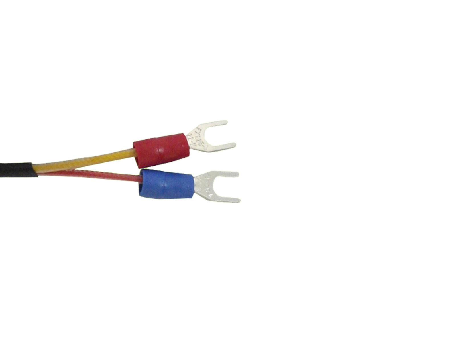 K Type Thermocouple Temperature Sensors With 3mm Id Washer And 2m Wiring Lead Wire