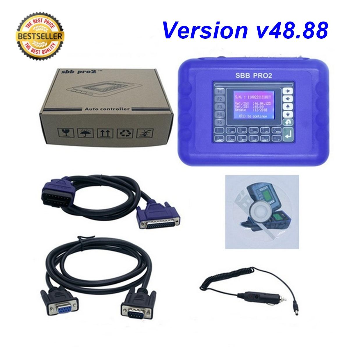 Details about SBB Pro2 Key Programmer Immobilizer Car Auto Key Maker NEWEST  VERSION v48 88