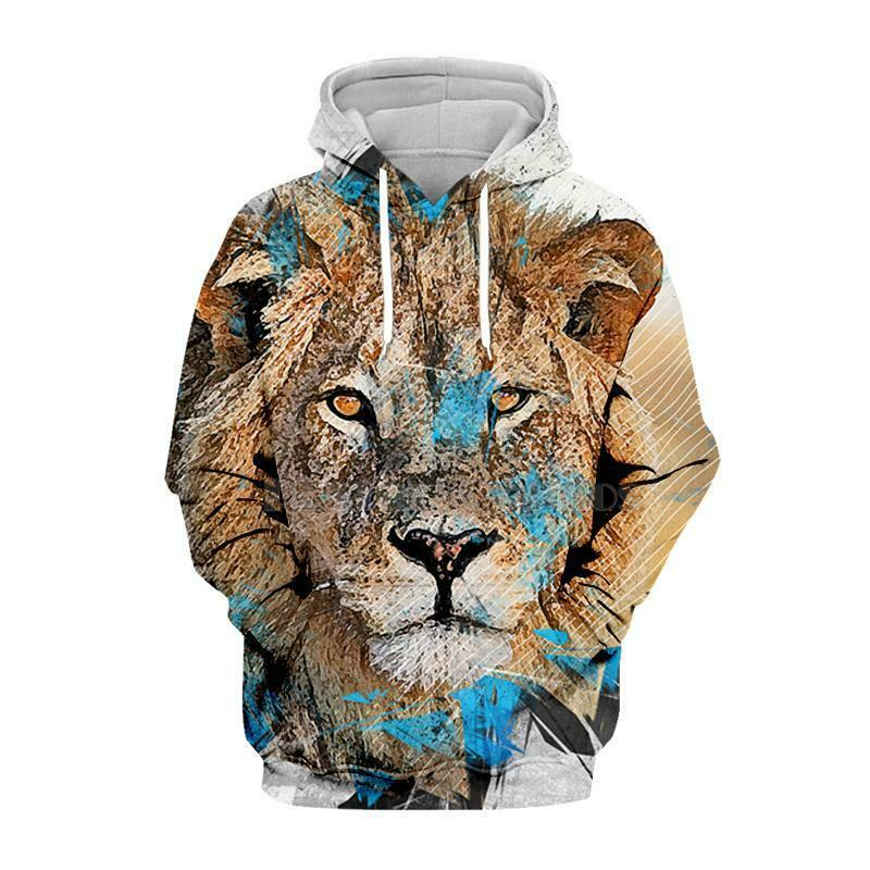 Funny Movie The Lion King 3D Hoodie Mens Womens Sweater Sweatshirt Jacket  Tops