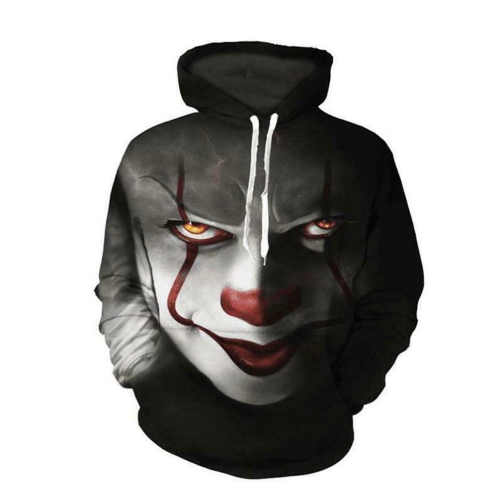 Jumper Adult /& Kids Jumper Top IT Pennywise Clown We all float down there Spook