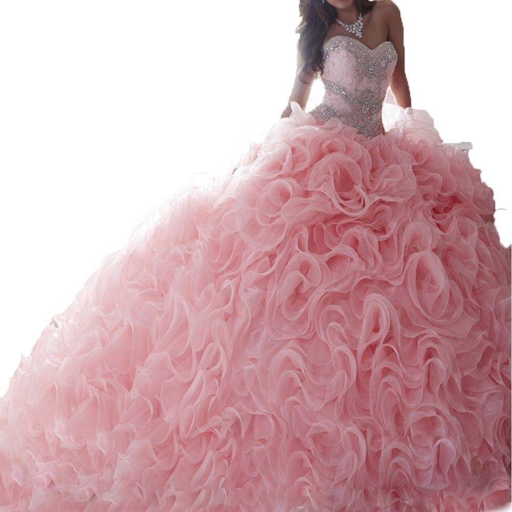 New Sweetheart Ball Gown Quinceanera Dresses Detachable Plus Size ...