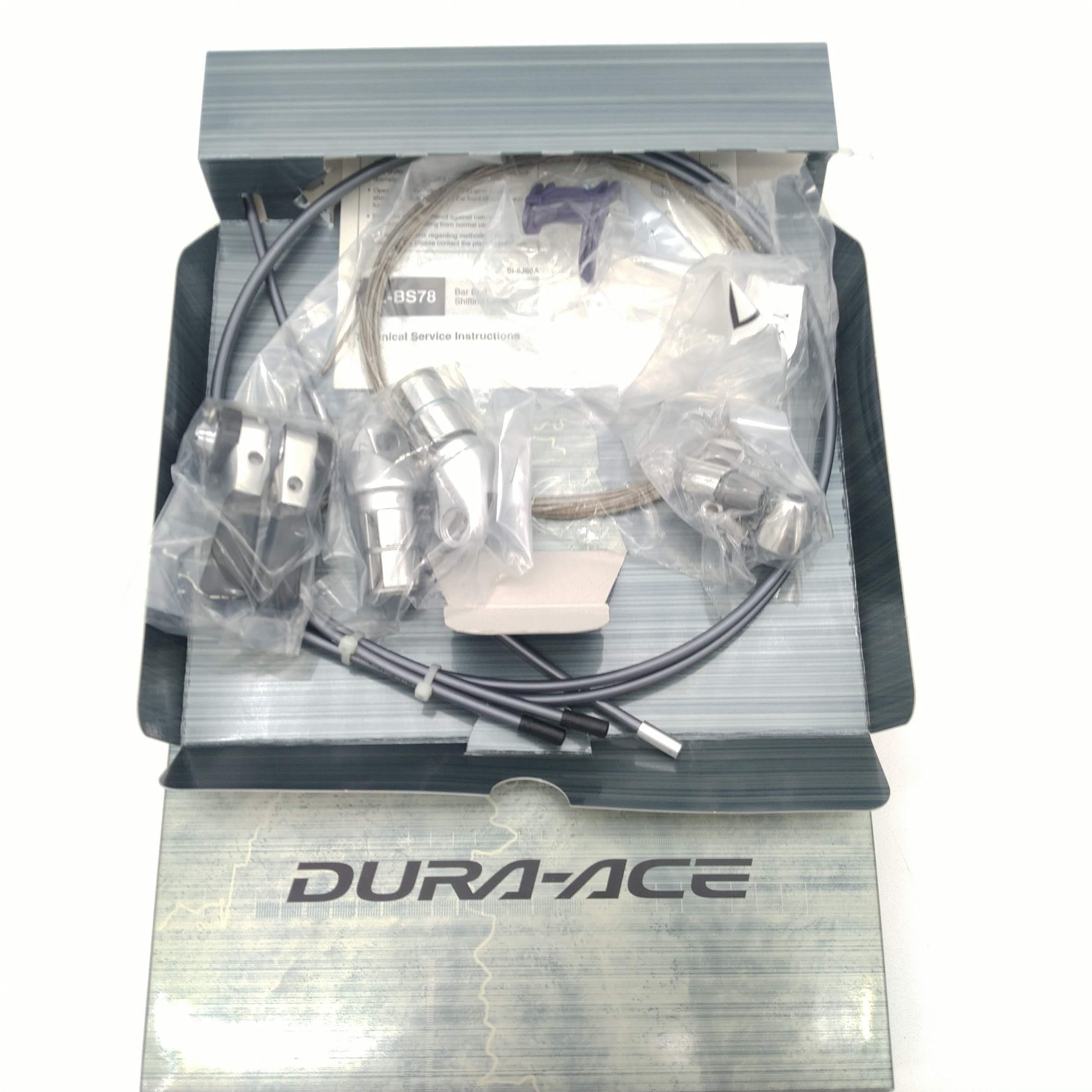 New Shimano Dura-Ace SL-BS79 2//3x10-Speed Bar End Shifter Set Lever Right//Left