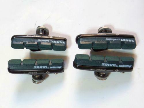 SRAM Swissstop Brake Pad W// Shoe for Road Bike-Green For Alloy Rims Use 2 Pairs
